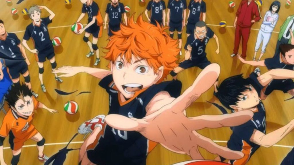 best volleyball based sports anime