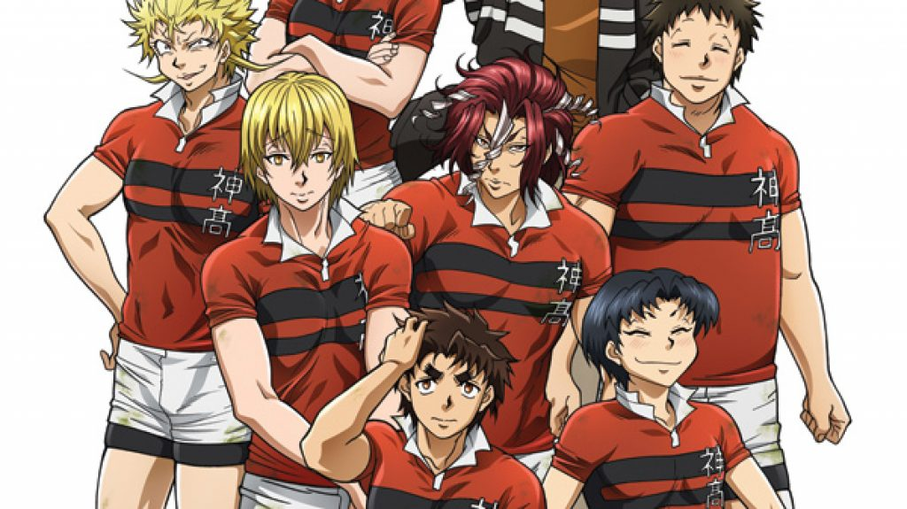 best rugby sports anime all out