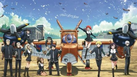 Top 15 Jet/ Aviation Anime of all Time